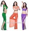 Acessível mais recente 11 cor roupa dança do ventre, trajes belly