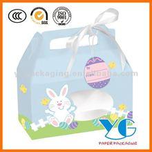 Ostern papier kuchen boxen geschenk boxen mit griffen& haustier