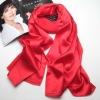 Plain long blank silk scarves 2015