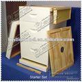 ventanal de madera caja de la colmena