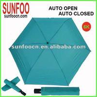 Three folding 6K japanese style umbrella