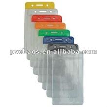 clear pvc card bag holder