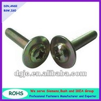 pan head screws with washer attached