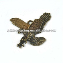 Metal jewelry eagle bird pendant for Necklace&Bracelet making-A16559