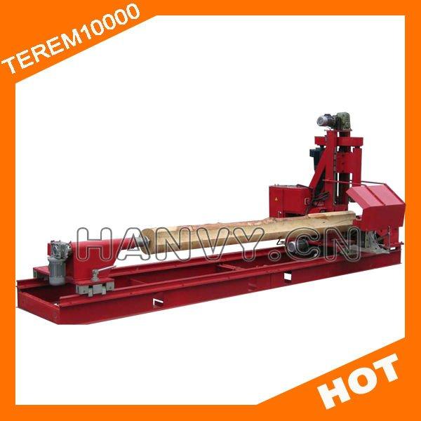 Log tornio/rotondo log produzione/rotondo scortecciatore legno tornio