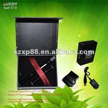 mini e-cigarette most popular BUD-510 free print logo on battery