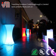 2015 color changing LED table / light up furniture / outdoor bar counter