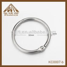 2012 promotional metal metal notebook ring binders