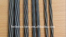 pc steel strand 12.5mm of high carbon low relaxation for metal building real estate