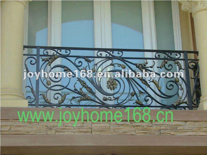 Simple balcony railing designs joy studio design gallery for Simple balcony grill design