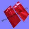 red color lipsticks ziplock metalized aluminum bag