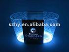 12L LED Plastic Ice Bucket