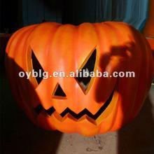 Fiberglass Halloween decoration--fiberglass halloween pumpkin