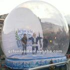 Christmas Backdrop Giant Inflatable Human Snow Globe Advertising (FLSG-01)