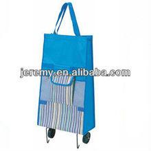 Folding shopping trolley bag, foldable shopping cart bag