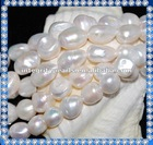 12-13mm large baroque fresh water pearl beads
