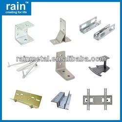 high quality double iron curtain bracket