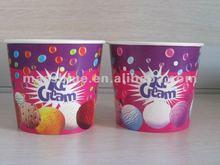 High Quality Disposable Paper Ice Cream Bowls/Paper Frozen Yogurt Bowls