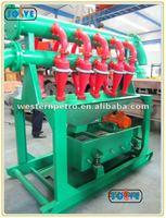 oil and gao field desilting machine