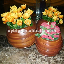 flower pot,FRP pot,high-end quality indoor pots