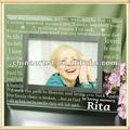 quadrados de vidro indiano moldura para a avó de presentes