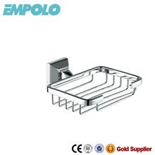 Solid brass wire soap basket in bathroom 92106B