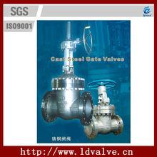 10'' manul flange class 150-2500 cast steel rising stem gate valve