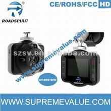 2.5 inch TFT LCD screen hd 720p mini car dvr AVI format with hdmi&usb interface