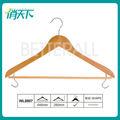 Wl8807 la falda percha de madera clásico giratoria personalizada ropa y de la falda