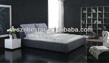 Beautiful design fabric soft bed
