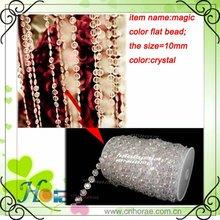 fashional decorative wedding acrylic bead curtain