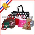eco-friendly needle punched nonwoven fabric handbag