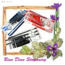 High qulity bic plastic pen&rainbow gel ink pen