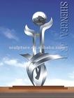 metal arts,large outdoor sculpture/stainless steel sculpture