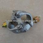 EN74 hot dip galvanized scaffolding double coupler