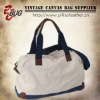 100% Cotton Canvas Vintage Duffle Bag/Canvas Travel Bag For Men