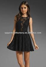 sheer pencil dress