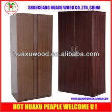 Moisture proof wooden board bedrom mirror wardrobe cabinet