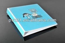 Newly Printed Plastic PVC vinyl ring binders