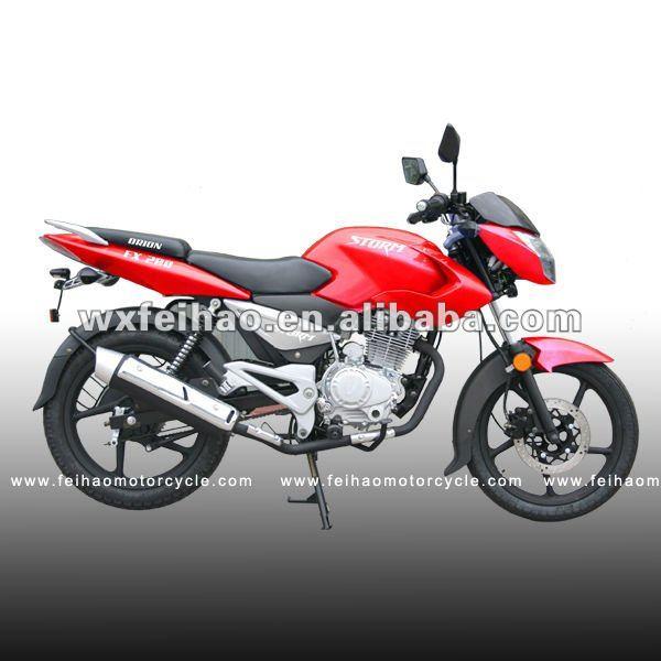 أفضل نوعية رخيصة 200cc دراجة نارية القياسية