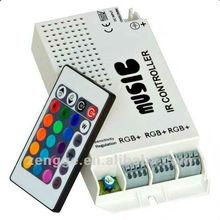 12V 24keys midi keyboard usb IR rgb controller in music