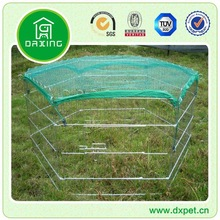 Large Heavy Duty Cage Pet Dog Cat Barrier Fence Exercise Metal Play Pen KennelDXW005