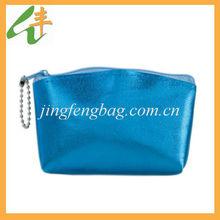 2014 newest beautiful ladies cosmetic bag change purse