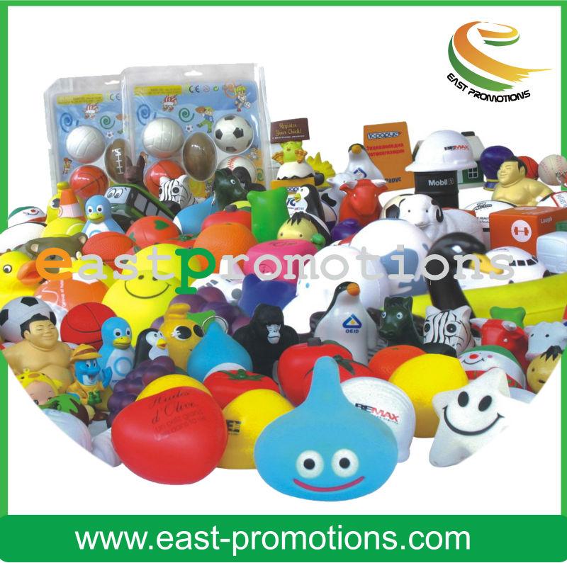 promotional novelty pu anti stress ball wholesale
