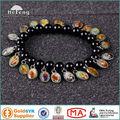 La pulsera Cristiana del cristal rosario elástica/ brazalete de cristal Rosario