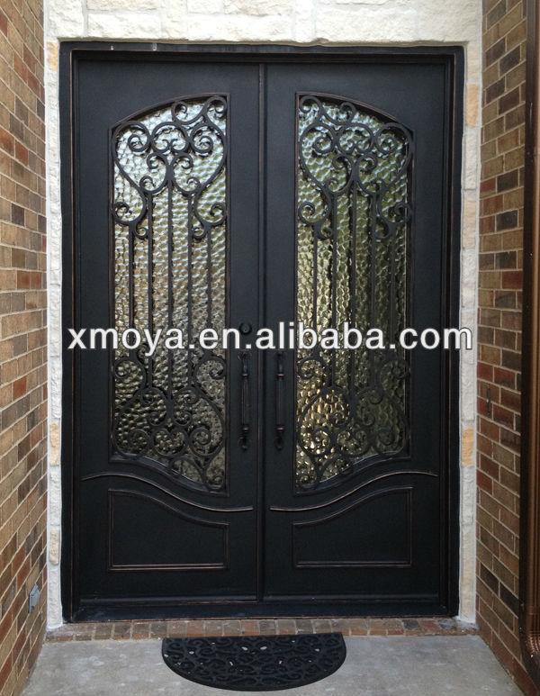 Villa main entrance door design double door view main for Entrance double door designs for houses
