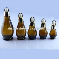 30ml 50ml natural oil aroma therapy essential oils glass bottle,100ml amber glass bottle with dropper