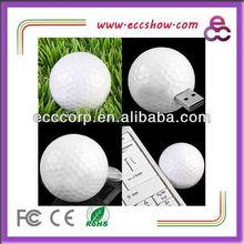 Golf shape usb flash drive 4gb