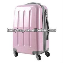 durable Fashion cute spinner four wheels super light luggage