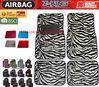 Auto Interior Accessories Fashional Universal Fitting Zebra Car Mats Car Floor Mat 4pcs